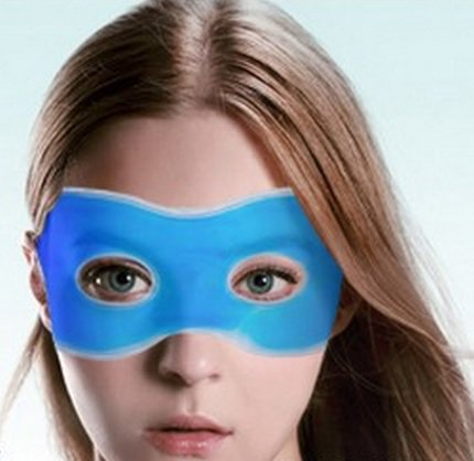 Chladiaca maska na oci