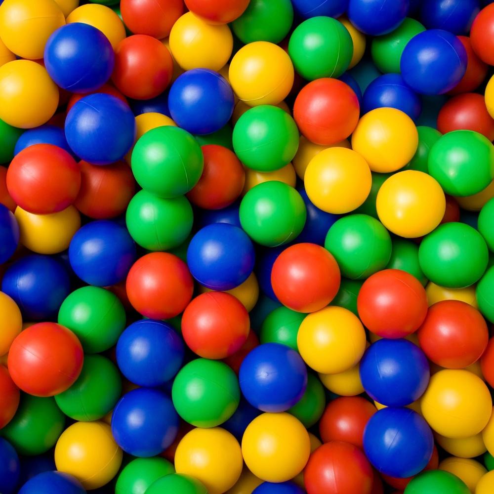 Plastové loptičky - 50 ks