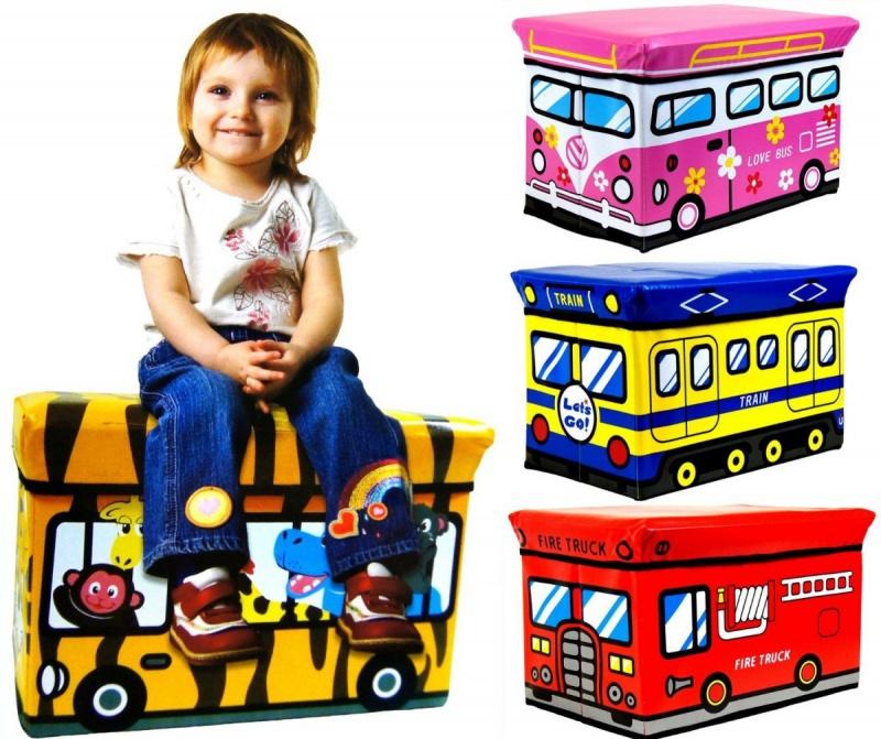 4cc79d33a Skladací úložný box a sedačka pre deti | Xdarceky.sk
